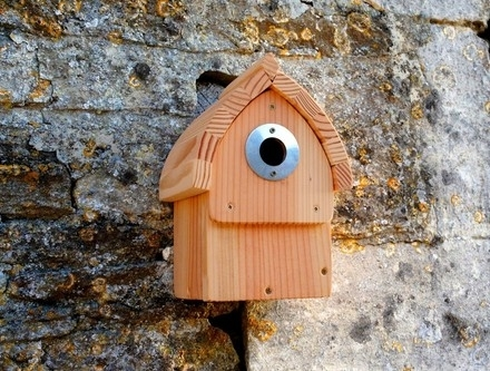 vogelhaus nistkasten cabin nester wildlife world bei. Black Bedroom Furniture Sets. Home Design Ideas