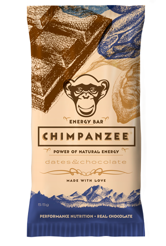 Energy Bar Vegan Dattel Schokolade, Chimpanzee