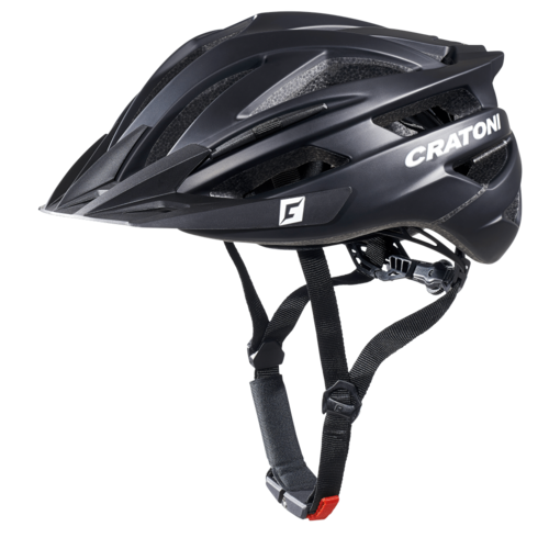 Agravic Radhelm MTB-Helm matt black limited, Cratoni