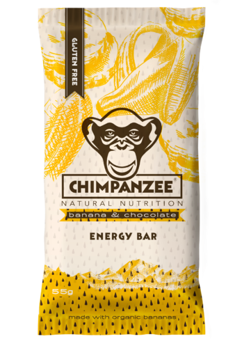 Energy Bar Vegan banana chocolate, Chimpanzee