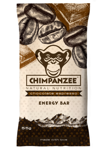 Energy Bar Vegan chocolate Espresso, Chimpanzee